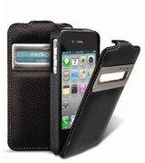 Кожаный чехол Melkco Jacka ID Type для iPhone 4/4s Black
