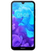 Huawei Y5 2019 Black Faux Leather