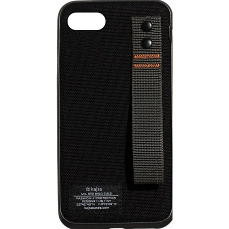 Чехол Kajsa Straps для Apple iPhone 7/8 Black