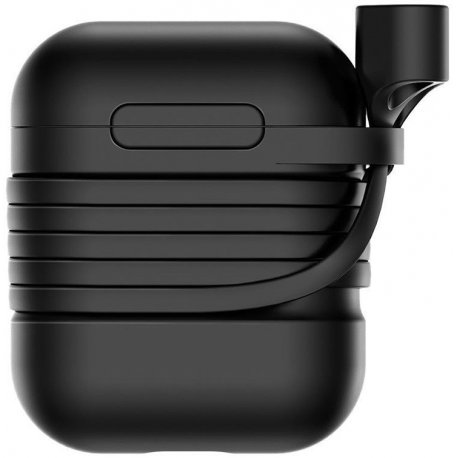 Чехол Baseus Silicone Case для Apple AirPods Black (TZARGS-01)