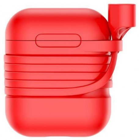Чехол Baseus Silicone Case для Apple AirPods Red (TZARGS-09)