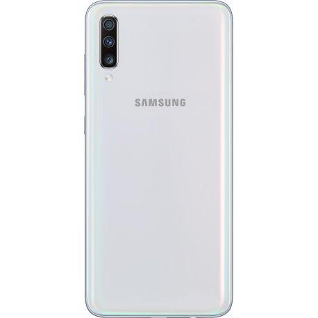 Samsung Galaxy A70 6/128GB White (SM-A705FZWUSEK) + Карта памяти Samsung Evo на 128Gb в подарок!