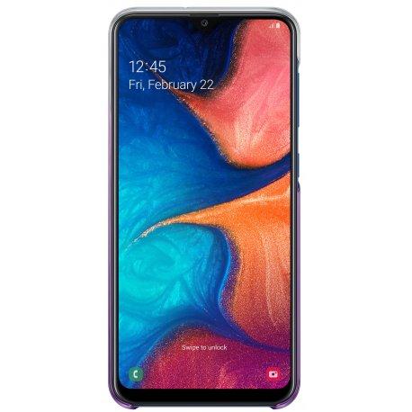 Чехол Gradation Cover для Samsung Galaxy A20 Violet (EF-AA205CVEGRU)