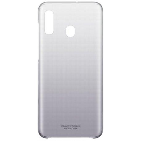 Чехол Gradation Cover для Samsung Galaxy A20 Black (EF-AA205CBEGRU)