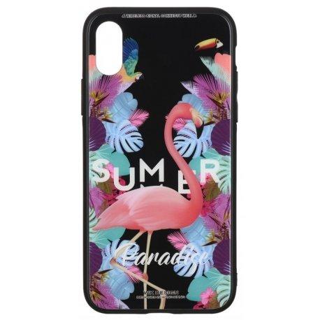 Чeхол WK для Apple iPhone XS Max (WPC-061) Flamingo