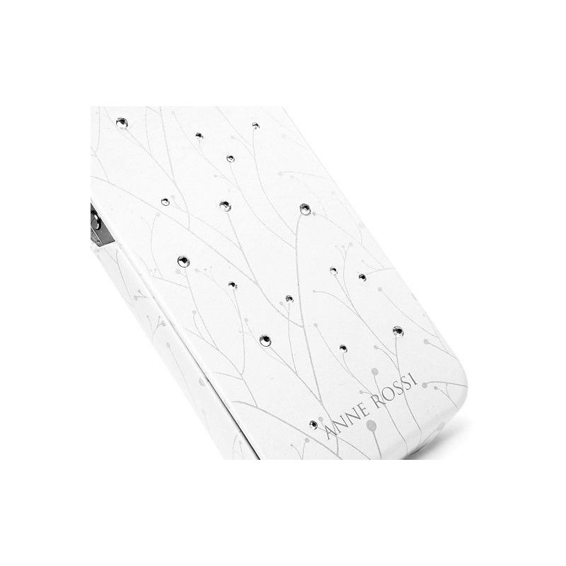 SGP iPhone 4/4s Leather Case Anne Rossi Series Sprout White