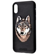 Чeхол Polo для Apple iPhone X/XS Savanna Iberian Wolf