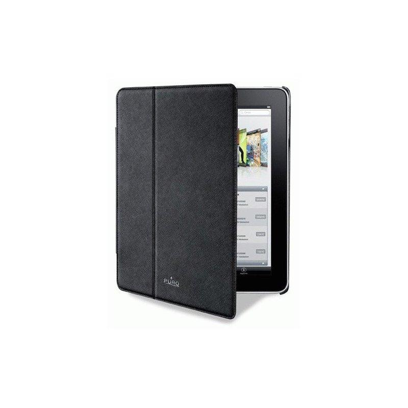 Чехол Puro iPad 2 Booklet Cover Black