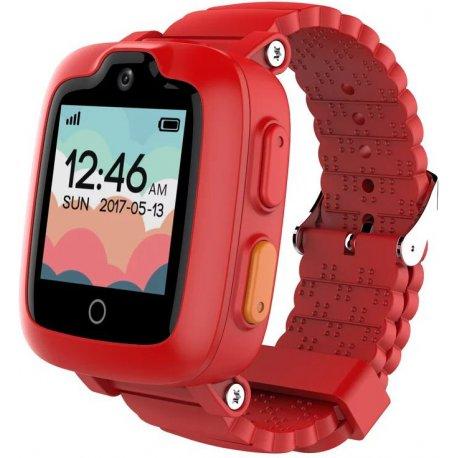 Детские телефон-часы с GPS трекером Elari KidPhone 3G Red (KP-3GR)