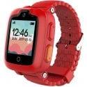 Детские смарт-часы Elari KidPhone 3G с GPS-трекером и видеозвонками Red (KP-3GR)
