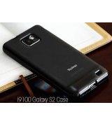 Yoobao накладка TPU Skin Cover для Samsung i9100 Galaxy S 2 Black