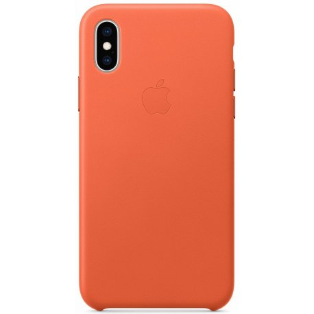 Чехол Apple iPhone XS Leather Case Sunset (MVFQ2)