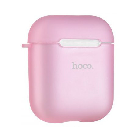 Чехол Hoco TPU Case для Apple AirPods Pink