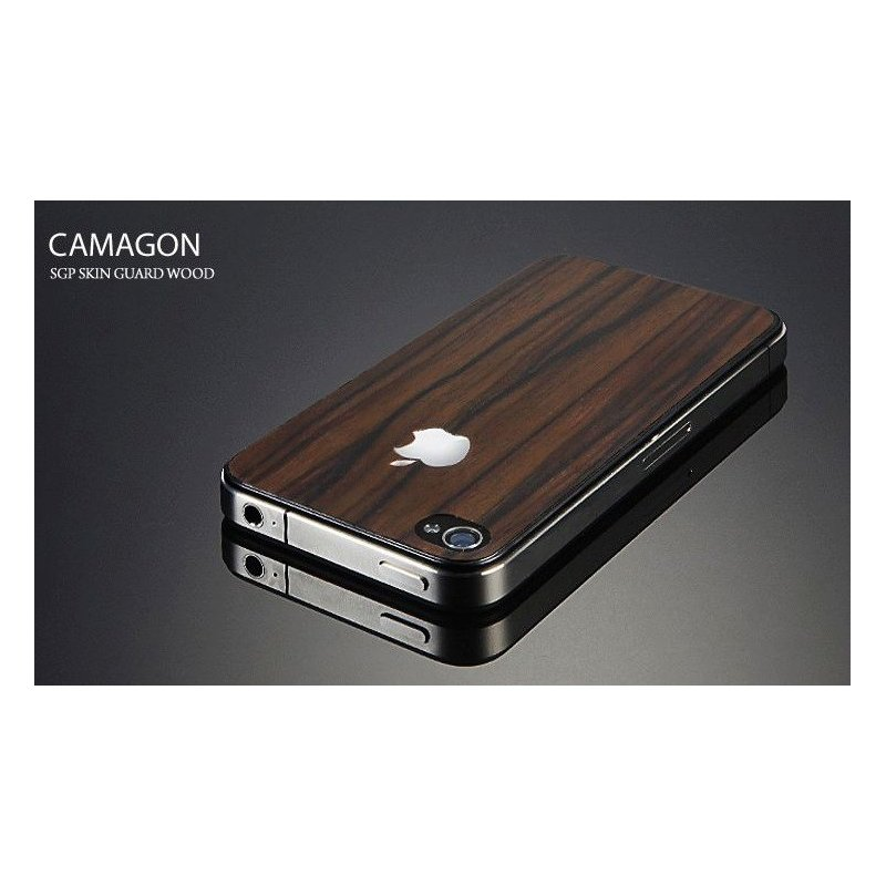 SGP Skin Guard Wood Camagon Set Series for iPhone 4/4s