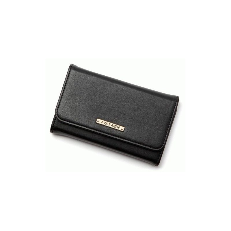 SGP iPhone 4/4s Leather Case Ava Karen Series Black