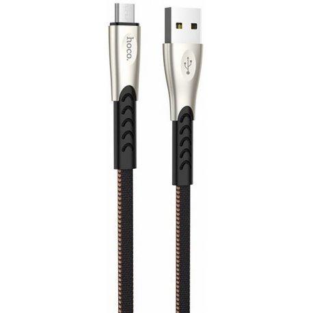 Кабель Hoco U48 Superior Micro-USB Cable 1.2m Black