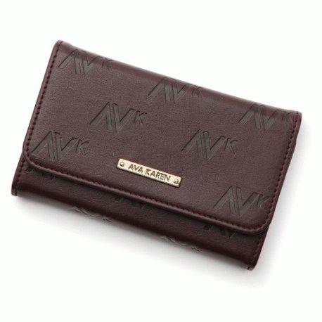 SGP iPhone 4/4s Leather Case Ava Karen Series Dark Brown