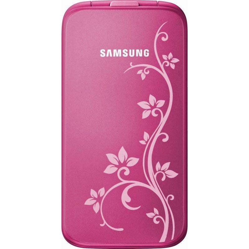 Samsung C3520 pink La Fleur