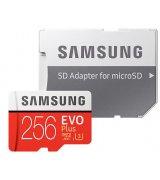 Карта памяти Samsung microSDXC 256GB EVO Plus Class 10 UHS-I U3 (MB-MC256GA/RU)