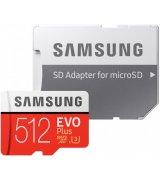 Карта памяти Samsung microSDXC 512GB EVO Plus UHS-I U3 Class 10 (MB-MC512GA/RU)