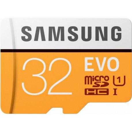 Карта памяти Samsung microSDHC 32GB EVO UHS-I Class 10 (MB-MP32GA/APC)