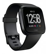 Смарт часы Fitbit Versa Fitness Watch Gunmetal/Black (FB505GMBK)