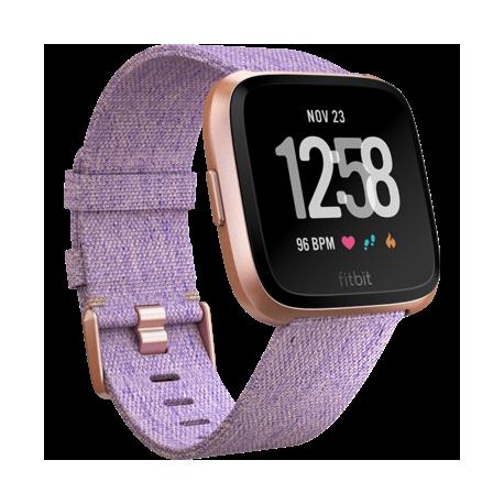 Смарт часы Fitbit Versa Fitness Watch Special Edition Lavander Woven (FB505RGLV)