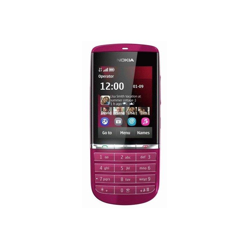 Nokia 300 Asha Pink