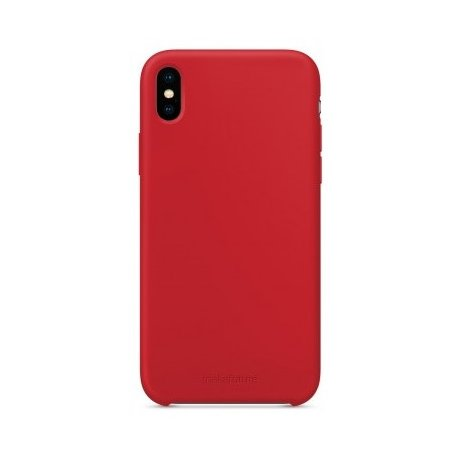 Чехол Clear Case для Apple iPhone XS Max Red