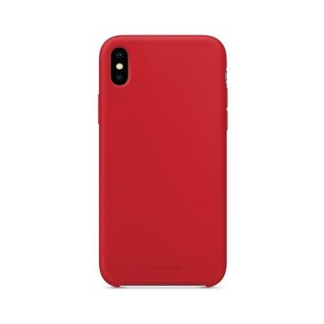 Чехол Clear Case для Apple iPhone XS Red