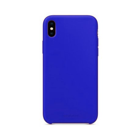 Чехол Clear Case для Apple iPhone XS Blue