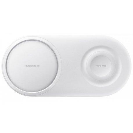 Беспроводное зарядное устройство Samsung Wireless Charger Duo (EP-P5200TWRGRU) White