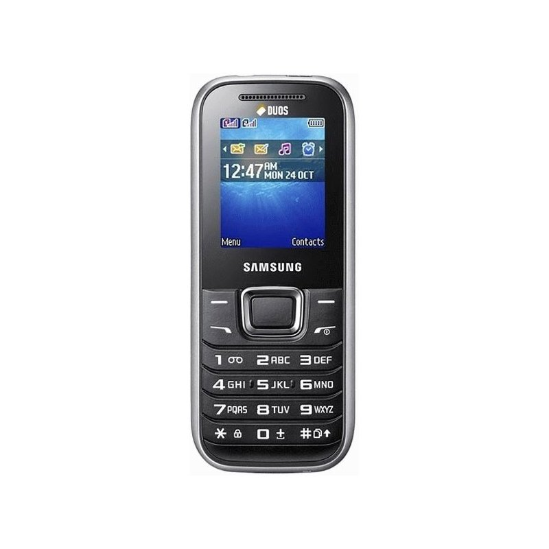Samsung E1232 Pure Silver