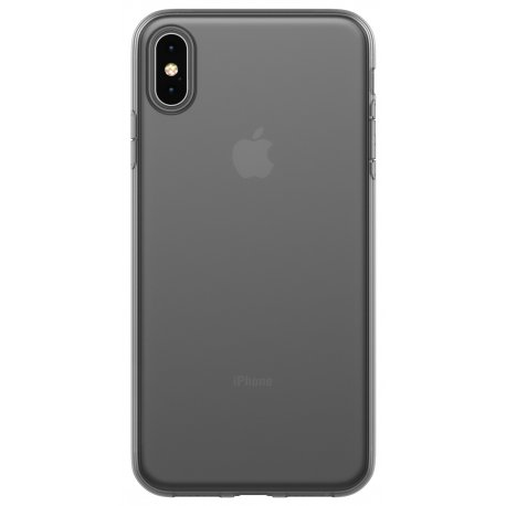 Чехол Clear Case для Apple iPhone XS Max Black