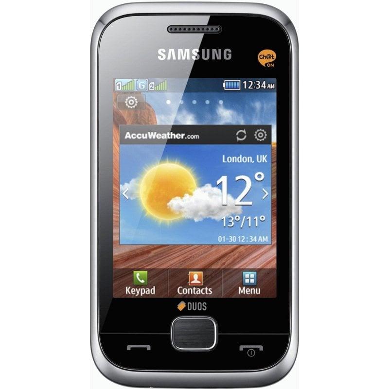 Samsung Duos C3312 Metallic Silver
