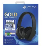 Беспроводная гарнитура для Sony PlayStation Gold Wireless Headset (2018) Black + Fortnite