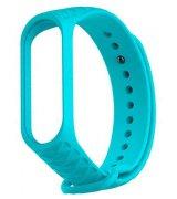 Ремешок Strap для фитнес-браслета Xiaomi Mi Band 3/4 Ribbed Strap Aquamarine