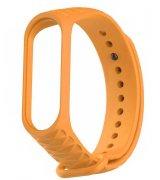 Ремешок Strap для фитнес-браслета Xiaomi Mi Band 3/4 Ribbed Strap Orange