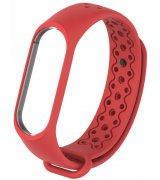 Ремешок Strap для фитнес-браслета Xiaomi Mi Band 3/4 Red