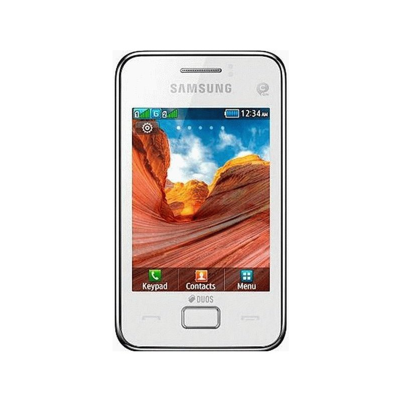 Samsung S5222 Star 3 Duos Pure White