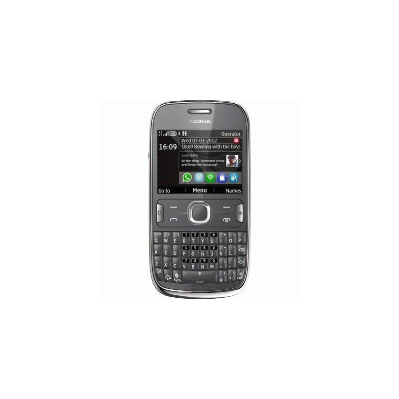 Nokia Asha 302 Dark Grey
