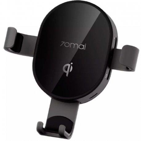 Автодержатель с беспроводной зарядкой Xiaomi 70Mai Wireless Car Charger Mount Black