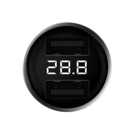 Автомобильное зарядное устройство Xiaomi ZMI Power Cruise Car Charger QC3.0 2 USB Silver