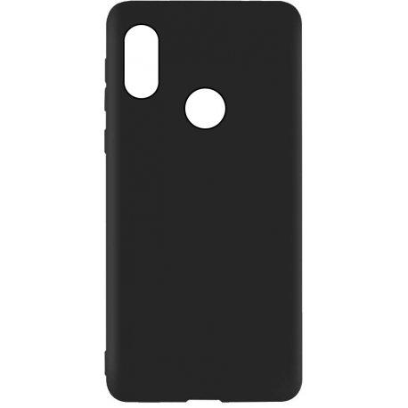 Накладка Silicone Case для Xiaomi Redmi Note 5 Pro Black