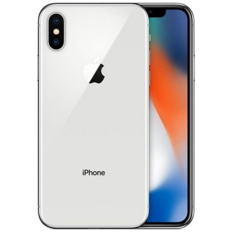 Apple iPhone X 64GB Silver (Refurbished)
