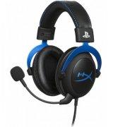 Гарнитура игровая HyperX Cloud Gaming Headset for PS4 Black/Blue (HX-HSCLS-BL/EM)