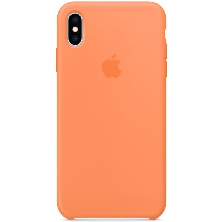 Чехол Apple iPhone XS Max Silicone Case Papaya (MVF72)