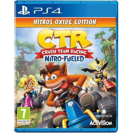 Игра Crash Team Racing: Nitro-Fueled - Nitros Oxide Edition для Sony PS4 (английская версия)