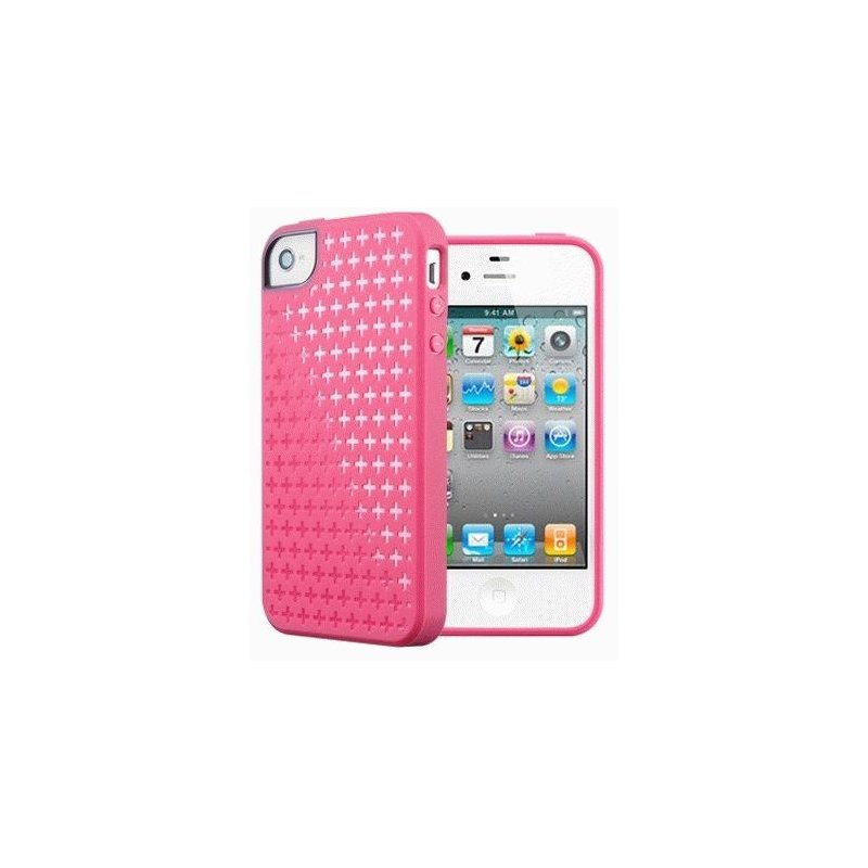 SGP iPhone 4/4s Case Modello Series Italian Pink розовый