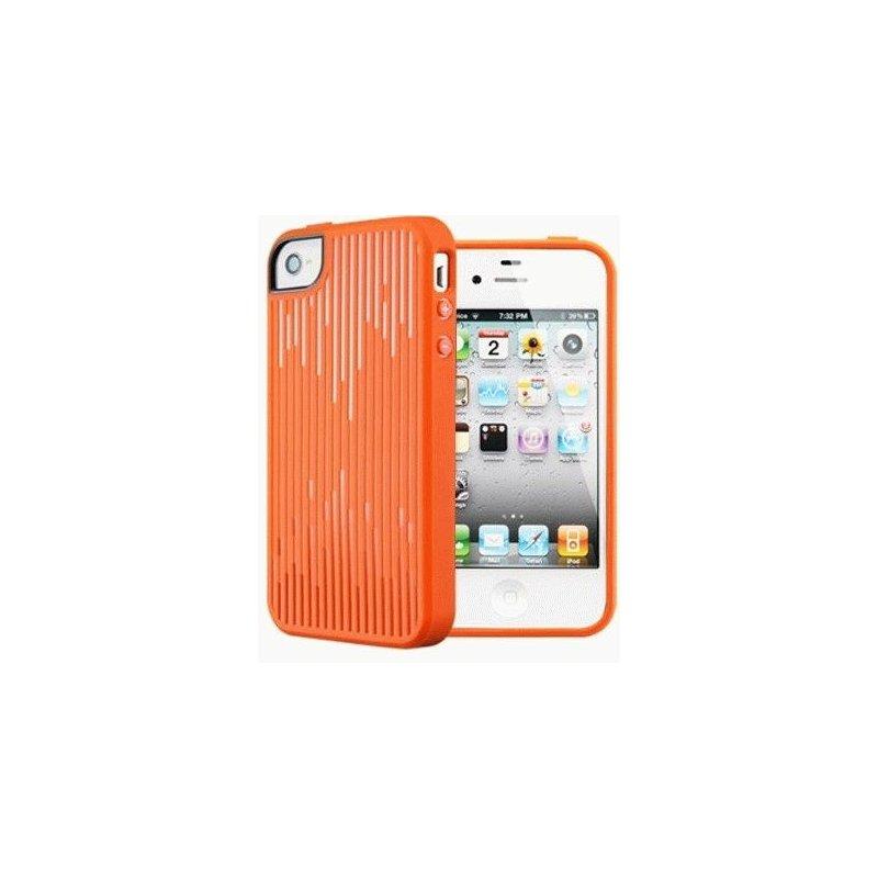 SGP iPhone 4/4s Case Modello Series Tangerine Tango оранжевый